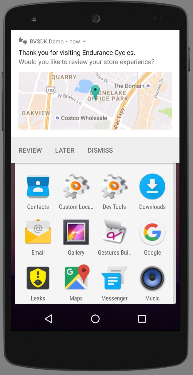 Bazaarvoice Developer Portal   Push Notifications